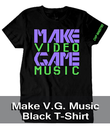 Make Video game Music T-Shirt