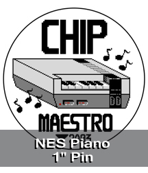 NES Piano Pin