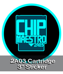 2A03 Cartridge Sticker
